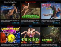 Online gay sex game